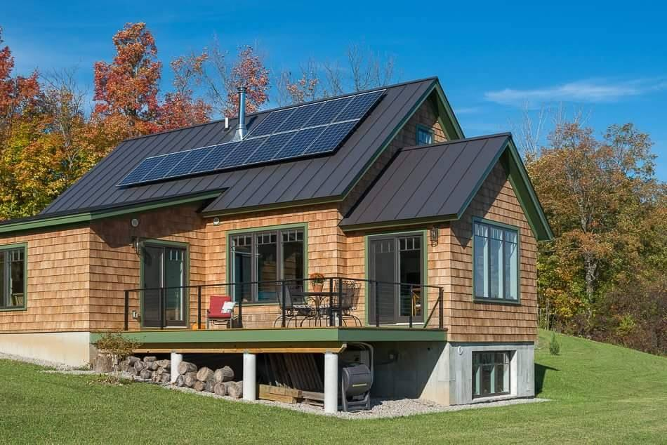 PV Solar System in Cornwall, Vermont