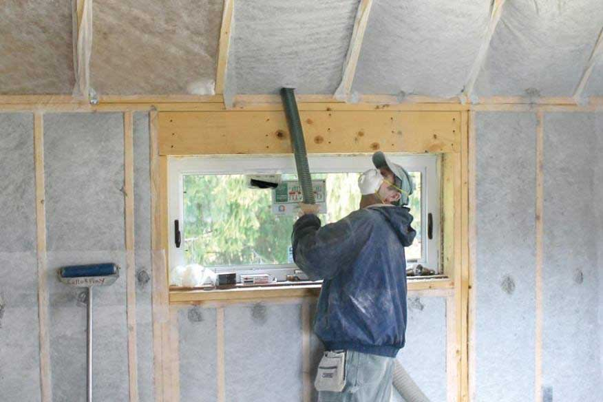Dense Pack Cellulose Insulation